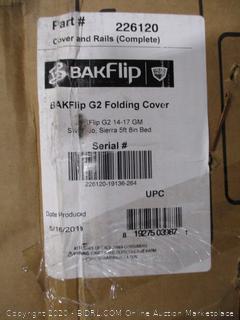BakFlip G2 Folding Cover 14-17 GM Silverado, Sierra 5' Bed