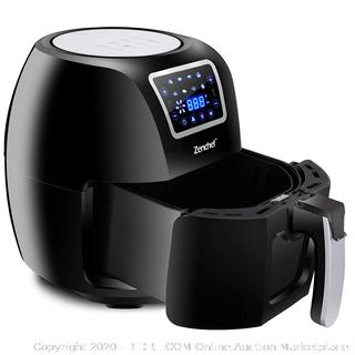 zenchef black Air fryer(Factory Sealed)COME PREVIEW!!!!!