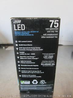 "Feit Conserv-Energy 925 Lumens Dimmable 5"" 6"" Recessed Light Retrofit Kit"