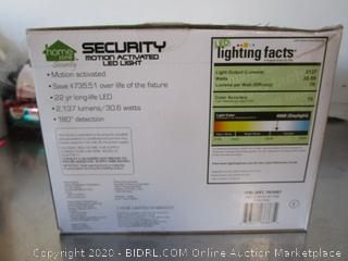 Home Zone Motion Activated Security LED Light
