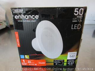 "Feit Electric LED Dimmable Soft White 540-Lumen Retrofit 4"" Kit"