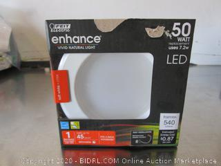 "Feit Electric LED Dimmable Soft White 540-Lumen Retrofit 4"" Kit"