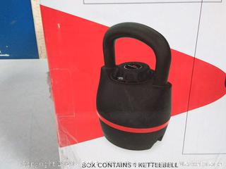 Bowflex selecttech adjustable kettlebell 8 to 40 lb(Factory Sealed) COME PREVIEW!!!!