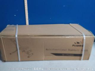 flybird multifunctional dumbbell bench(Factory Sealed/Box Damage) COME PREVIEW!!!! (online $149)