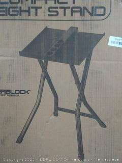 PowerBlock large compact weight stand(Factory Sealed/Box Damage) COME PREVIEW!!!!