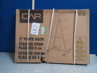 CAP 2 inch plate rack(Factory Sealed/Box Damage) COME PREVIEW!!!! (online $52)