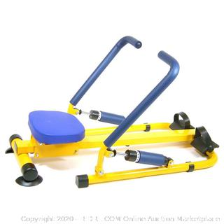 Redmon For Kids Fun and Fitness Multifunction Rower (online $86)