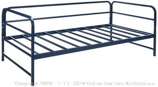 Zinus Nightfall Twin Daybed Frame, Steel Slat Support (online $164)