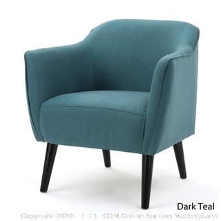 Christopher Knight Home 300033 Alphonse Fabric Arm Chair, Dark Teal (online $195)