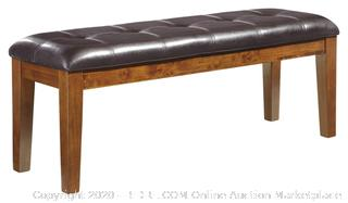 Ashley Furniture Signature Design - Ralene Dining Room Bench - Rectangular - Vintage Casual - Medium Brown (online $75)