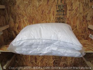 Platinum Tri-Cool Memory Fiber Pillows Jumbo 2-Pack