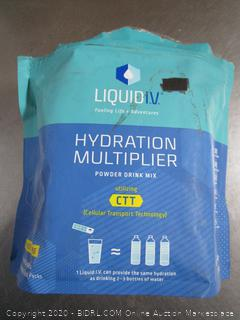 Liquid I.V. Hydration Multiplier Electrolyte Drink Mix Lemon-Lime