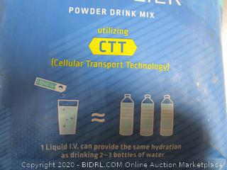 Liquid I.V. Hydration Multiplier Electrolyte Drink Mix Lemon-Lime