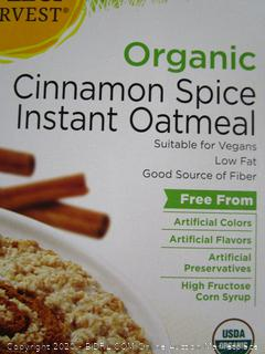 Wild Harvest Organic Cinnamon Spice Instant Oatmeal
