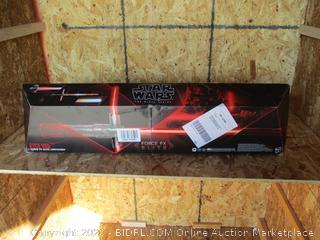 Star Wars The Black Series Supreme Leader Kylo Ren Force FX Elite Lightsaber (Damaged)