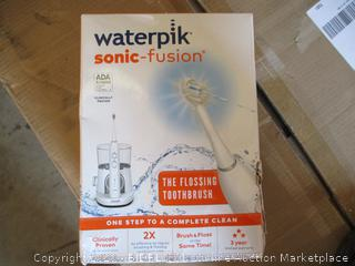 Waterpik- Sonic Fusion- Flossing Toothbrush