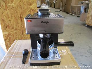 Mr.Coffee- Steam Espresso & Cappuccino Maker
