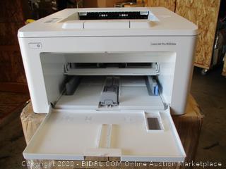 Hp- Laser Jet Pro M203dw - Wireless Laser Printer ( missing power cord)