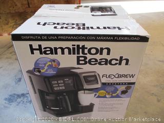 Hamilton Beach- Flexbrew- 2 Way Coffee Maker