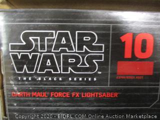 Star Wars - Black Series Darth Maul Force FX Lightsaber