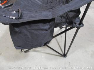 Coleman - Portable Camping Quad Chair with 4-Can Cooler
