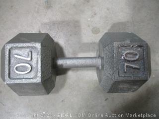 Dumbbell - 70 lb
