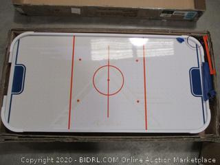 Rally and Roar - Tabletop Air Hockey Table (Cracked, See Pictures)