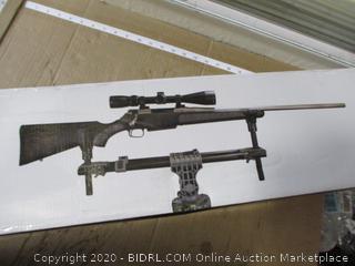 BOG - FieldPod Adjustable Tripod Rifle Shooting Rest ($194 Retail)