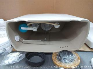jacuzzi Lyndsay elongated two-piece toilet