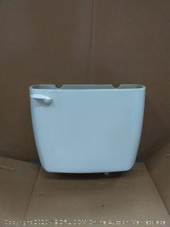 Colby standard height round bowl toilet(scratch on top front of toilet)