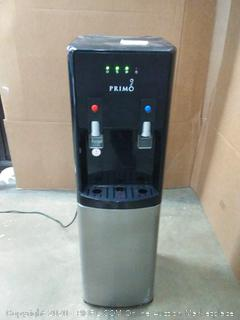 Primo 601144 black water dispenser (powers on)