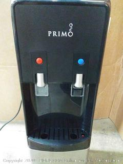 Primo water and dispenser Deluxe water dispenser (powers on)