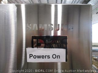 "Samsung 21.8 CU FT  French Door Bottom Freezer Refrigerator 30"" with Ice Maker"