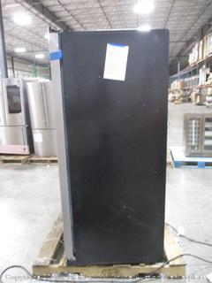 Amana ASI2575GRS 36 Inch Side-by-SideAmana ASI2575GRS 36 Inch Side-by-Side Refrigerator with Dual Pad Dispenser, Gallon Door Bins, Temp Assure™, Dairy Center, Interior Lighting, Dispenser Control Lockout, ADA Compliant and 24.6 cu. ft. Capacity: Black-on-Stainless Lighting, Dispenser Control Lockout, ADA Compliant and 24.6 cu. ft. Capacity: Black-on-Stainless