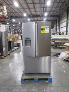 Bosch 800 Series 36 in. 25 cu. ft. French Door Refrigerator in Stainless Steel, Standard Depth  (doors don't close)