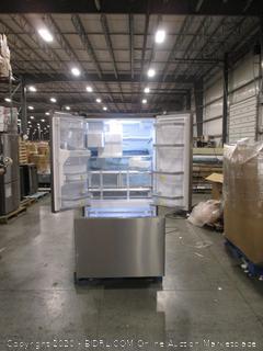 Bosch 800 Series 36 in. 25 cu. ft. French Door Refrigerator in Stainless Steel, Standard Depth  (doors don't close)