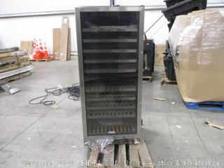 "EdgeStar CWR1101DZ Stainless Steel 23"" Wide 110 Bottle Built-In Wine Cooler"