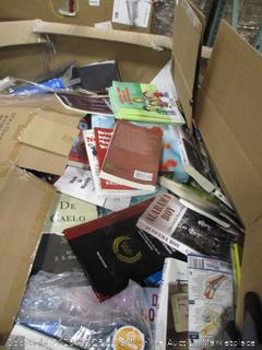 Miscellaneous Pallet of Books
