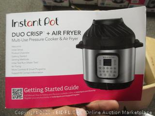 Instant Pot Duo Crisp + Air Fryer (See Pictures)