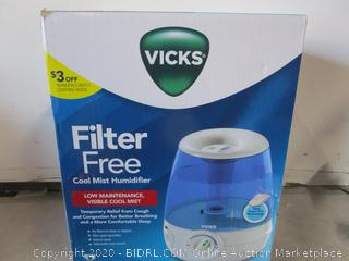 Vicks Mini Filter Free CoolMist Humidifier