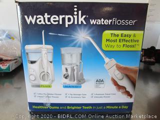 Waterpik Water Flosser (powers on)