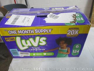 Luvs Triple Leakguard Diapers