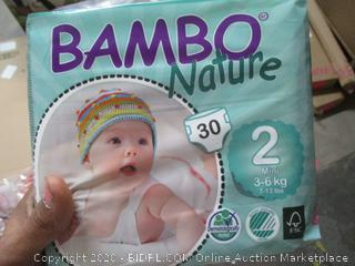 Bambo Nature Diapers (See Pictures)
