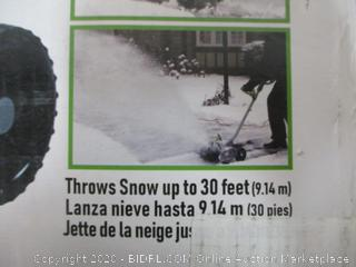 Corded Electric Snow Thrower (See Pictures)