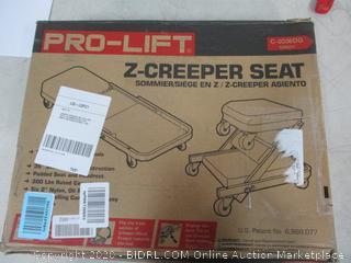 Z-Creeper Seat