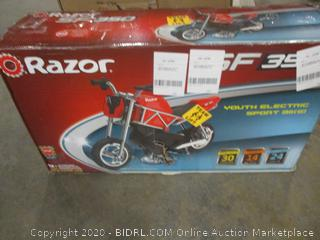 Razor Youth Electric Sport Bike (See Pictures)