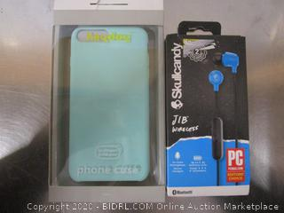 Heyday iPhone Case, Skullcandy Earbuds