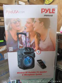 Pyle Wireless Bluetooth Portable PA Speaker