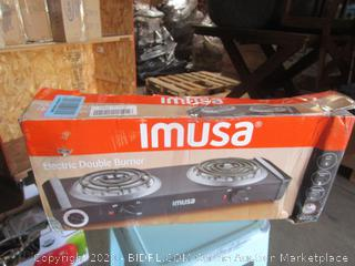 Imusa Electric Double Burner