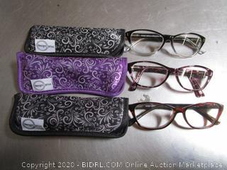 DesignOptics Foster Grant Reading Glasses +2.50